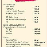 Business Registration and More