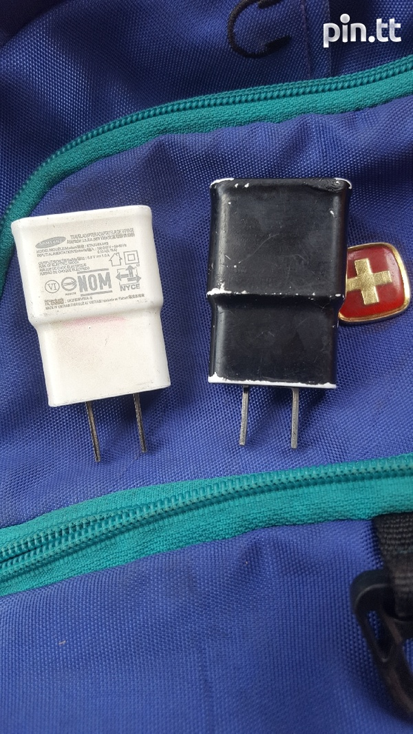 Two charger blocks