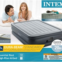 Queen Size Air Bed W/ Electric Pump