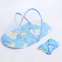 Brand New Portable Baby Bed with Mosquito Net Happy Baby