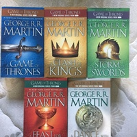 All Game Of Thrones Books
