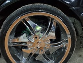Rim and Tyre 18inch....TRADE ALSO