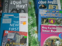 Secondary and primary school books