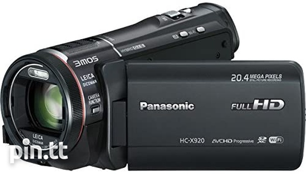 Panasonic HC-X920 HD Camcorder, Lights, Acc.-1