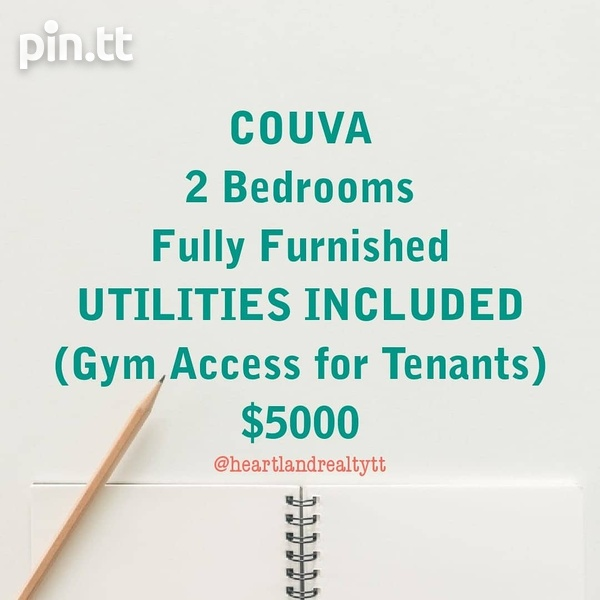 Couva Fully Furnished 2 Bedroom-1