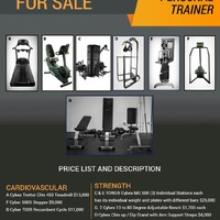 CYBEX GYM EQUIPMENT