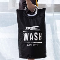 Home Essentials - Wash Large Collapsibe Laundry Hamper
