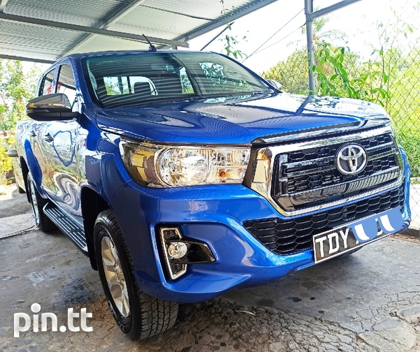 Toyota Hilux, 2019, TDY-3