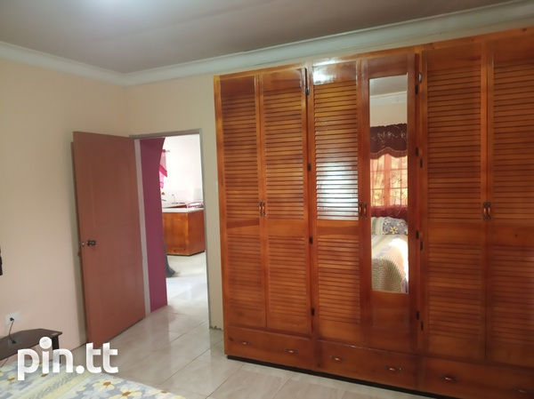 Furnished Two Bedroom Apartment, Lange Park Chaguanas-15