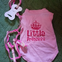 Princess Jersey with harness and lesh