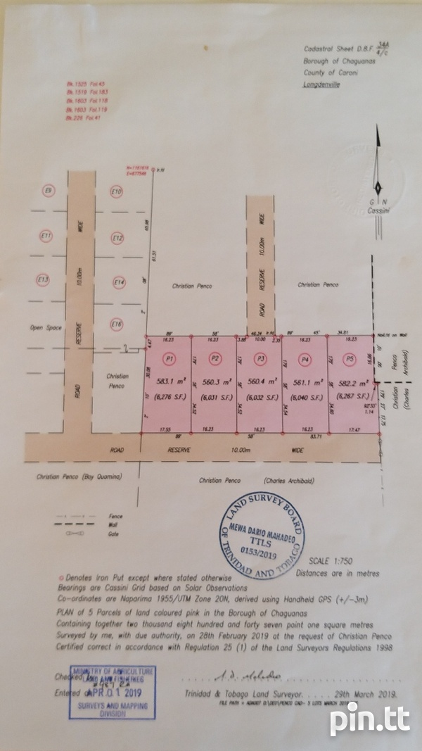 5 lots in the Glades IV,Chaguanas-1