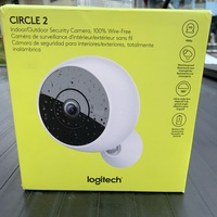Two Logitech circle 2 Wifi Security Cameras