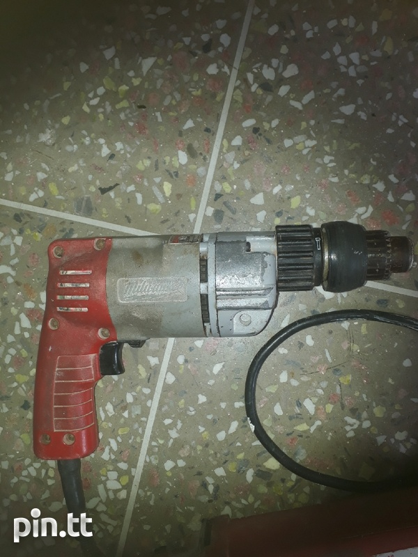 Two Milwaukee hand tools that can be repaired or used for spare parts-3