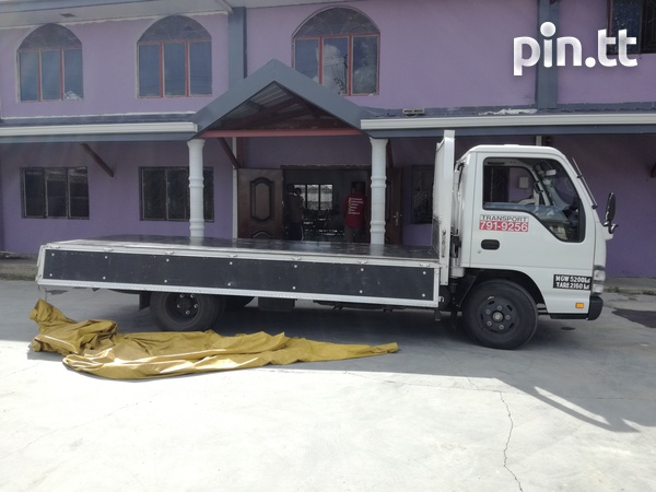 Transport for hire with Isuzu 3 ton truck and 1-1/4Ton Pickup.-5