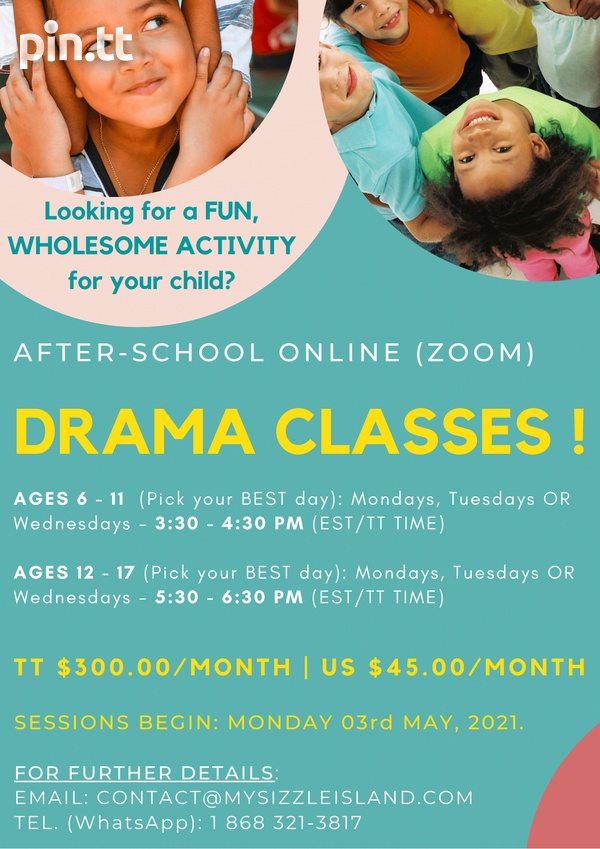 Drama Classes for Kids and Teens