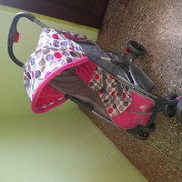 Baby stroller used once outdoor, like new