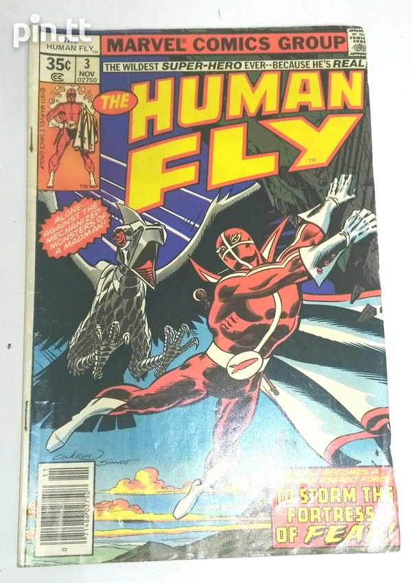 The Human Fly Comic Book Collection-3