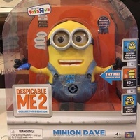 Limited Edition Minion Dave