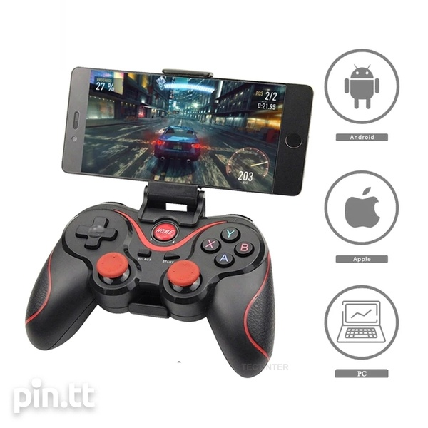 Brand New Wireless Bluetooth Gamepad for android, tv box, pc, ps3-6