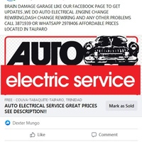 AUTO ELECTRICAL/MECHANICAL SERVICE