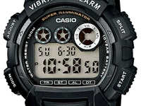 Casio Waterproof Watch with 10 years battery, vibration alarm, 10/10