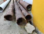 3 inch steel drill pipe, 20 ft lengths