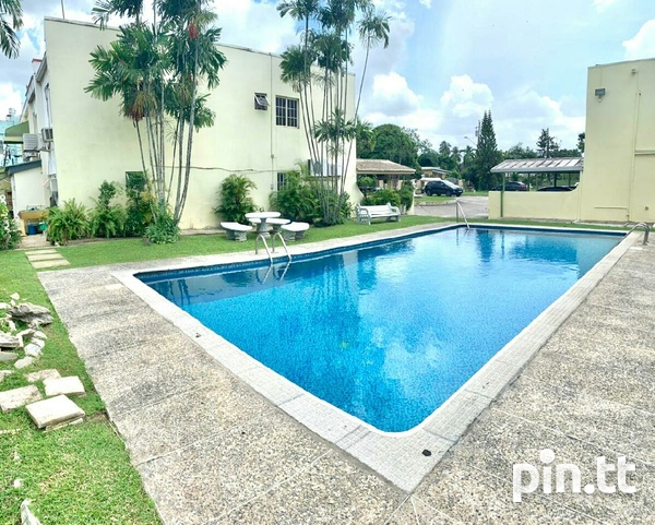 Fully Furnished 2 Bedroom Townhouse W/Pool, Valsayn South-8