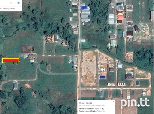 Unapproved 10,000 sq ft Land, Chin Chin, Cunupia-2