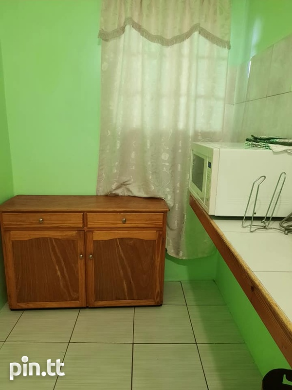 St Clair /Woodbrook - Fully furnished 1 bedroom/1 bath Apartment-2