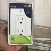 Leviton Decora Outlets 18 Pcs