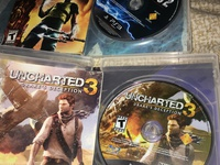 Uncharted 3 and Infamous 2- both for 150
