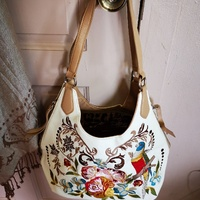 Shariff Embroidered Tote Handbag