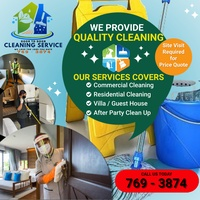 Commercial/Residential/After Events Cleaning Service