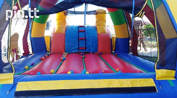 Wet/Dry bounce house and water slide-4
