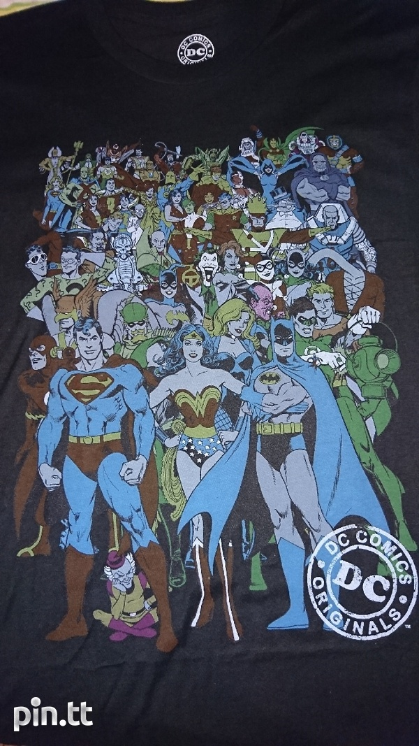 Official Green Lantern T-Shirt S/ DC Comics T- Shirt L-2