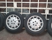16in original Mercedes rims and tyres