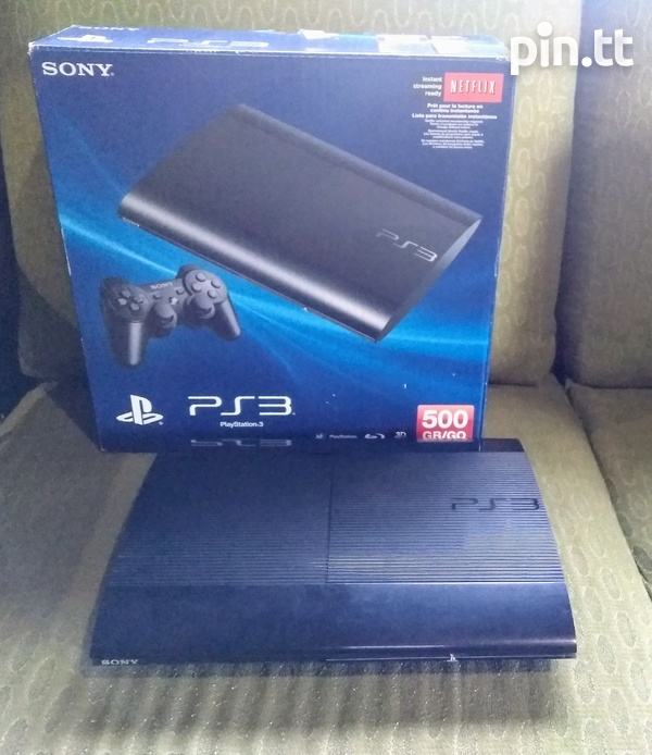 PS3 Super Slim 500GB + 7 Games Bundle-2