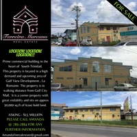 PRIME COMMERCIAL BLDG IN THE HEART OF SOUTH TRINIDAD