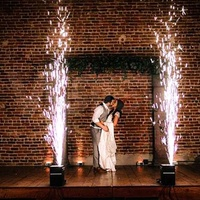 Cold spark effect for first dance