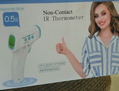 Non contact IR thermometer