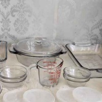 Anchor Hocking Classics 15pc Crystal Oven Set