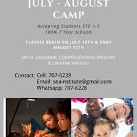 July - August Camp