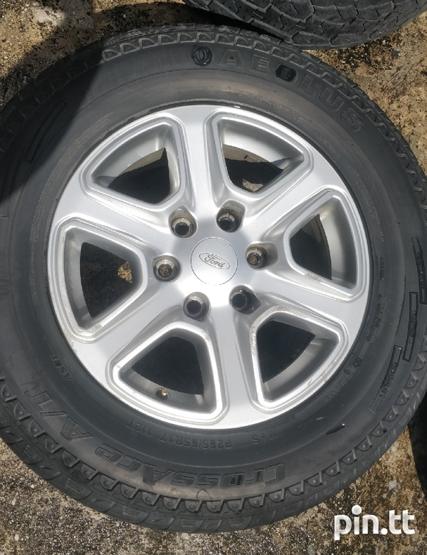 17 inch rims and tyres-5