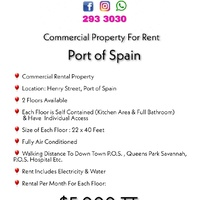 Commercial Rental Property in Port of Spain