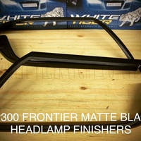 Nissan NP300 Frontier Matte Black Light Finishers