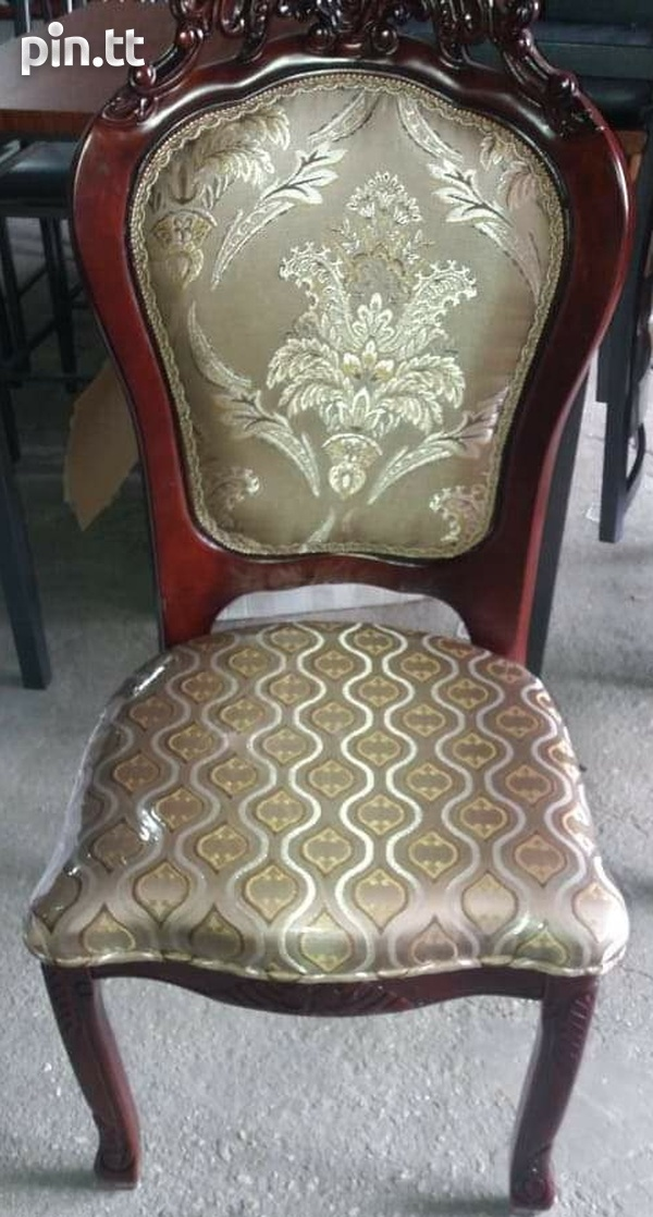 Treated rubber wood furniture