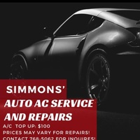 Simmons Auto Ac Services And Repairs