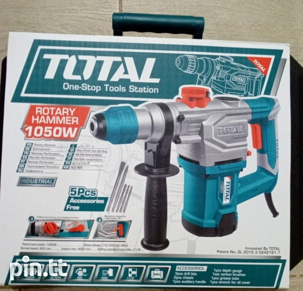 Total Rotary Hammer Drill-4