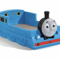 Step 2 Thomas the Train Bed, Mattress and Matching bedding, Barely used.