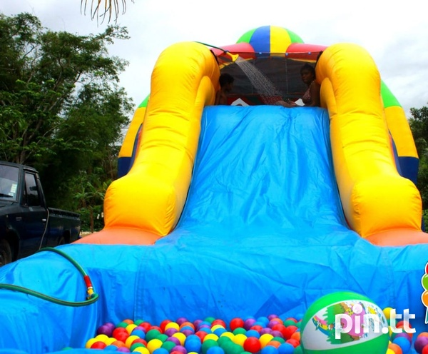 Wet/Dry bounce house and water slide-6
